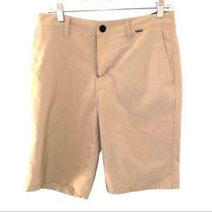 Hurley 29 tan shorts light weight